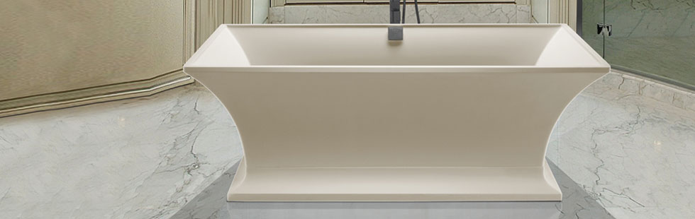 Freestanding Bath Tub Orange County; Metro Collection Acrylic Bathtubs ...