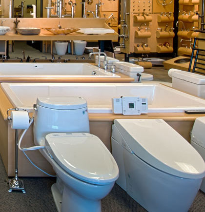 Bath Company Faucets Showroom