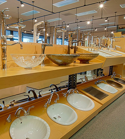 Vessel Sink & Faucets